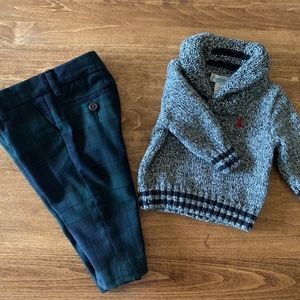 Ralph Lauren Sweater and Pants set